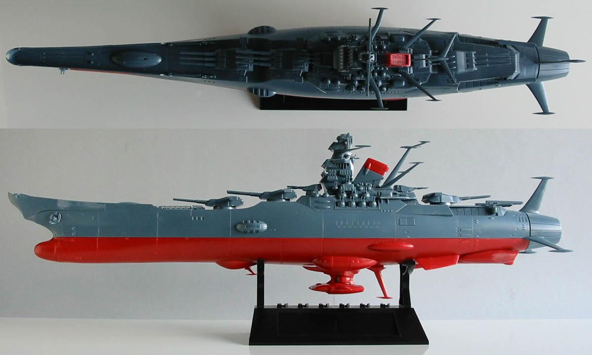 Encouraçado Espacial Yamato Yamato1-500wip02-1