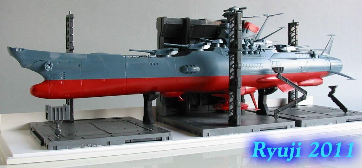 Encouraçado Espacial Yamato Yamato1-500wip09
