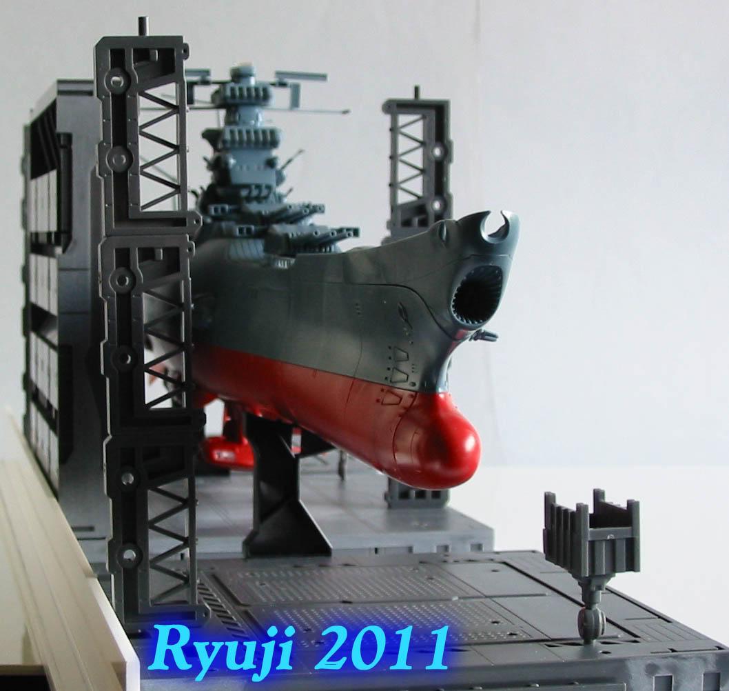 Encouraçado Espacial Yamato Yamato1-500wip11