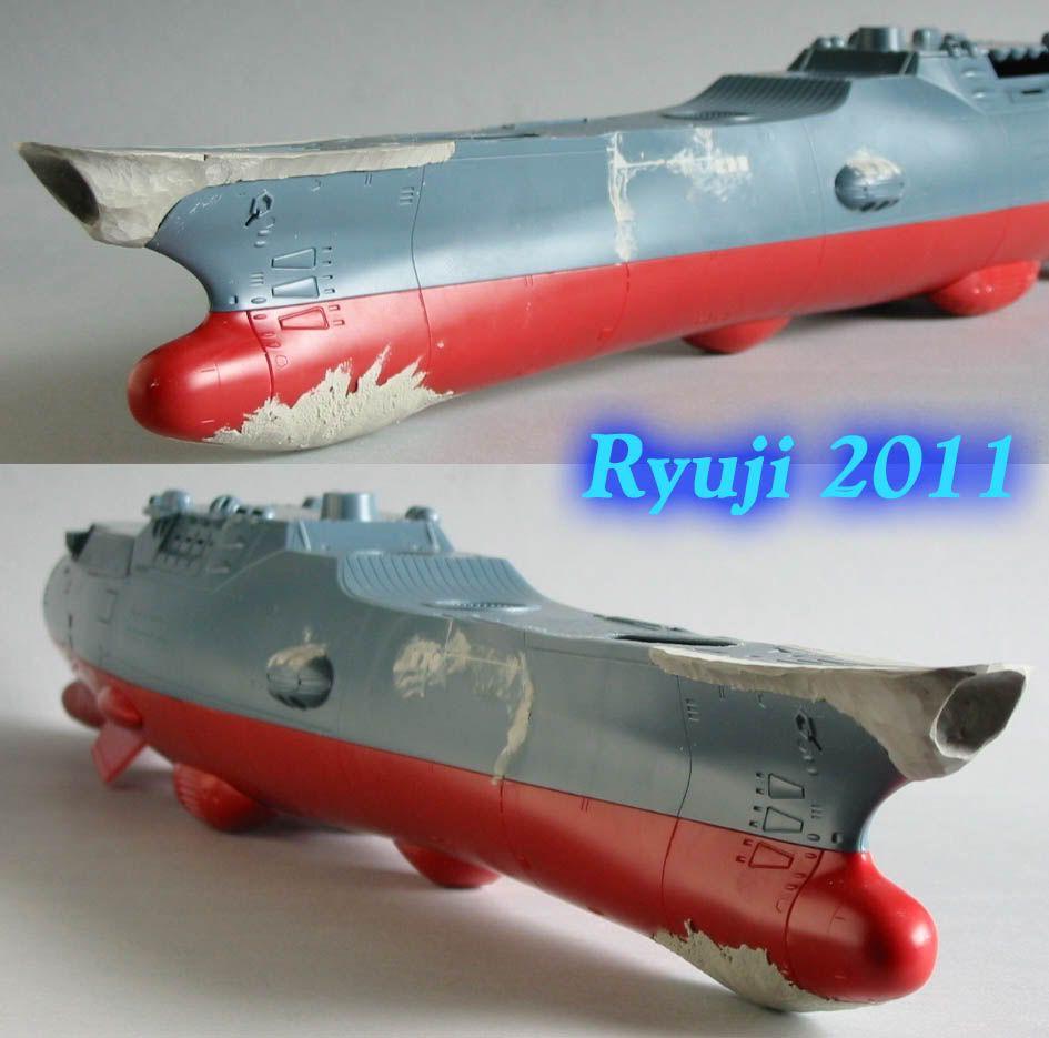 Encouraçado Espacial Yamato Yamato1-500wip13