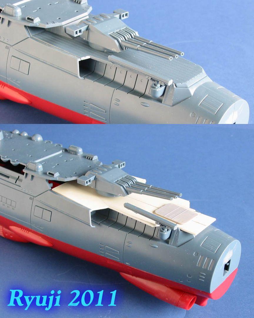 Encouraçado Espacial Yamato Yamato1-500wip15