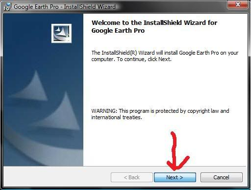 Google Earth Pro 4.2 قوقل ايرث 4 برنامج + الكراك 1-99