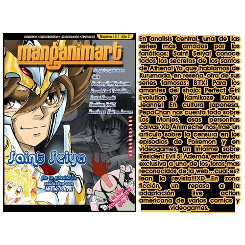 Revistas Manganimart  nº 1 a 23. REVISTA13