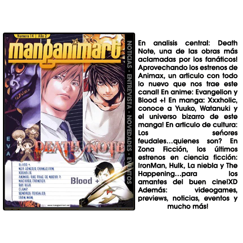 Revistas Manganimart  nº 1 a 23. REVISTA14