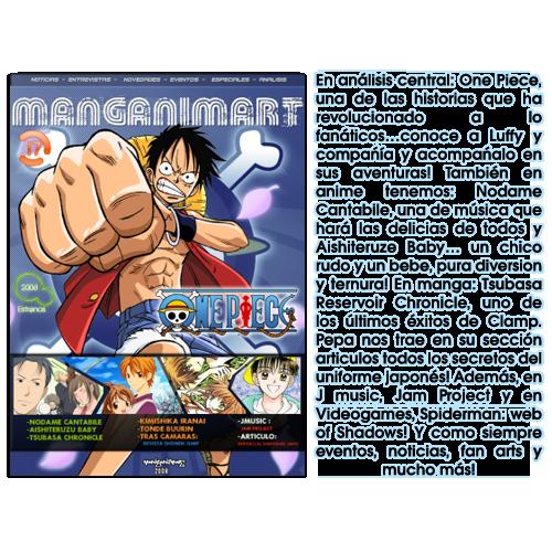 Revistas Manganimart  nº 1 a 23. REVISTA17