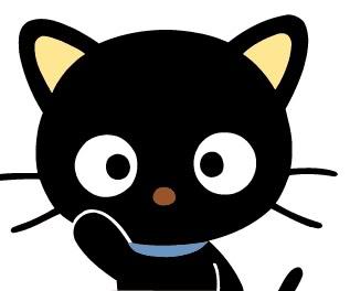 Hello Kitty…he visto un lindo gatito! Chococat
