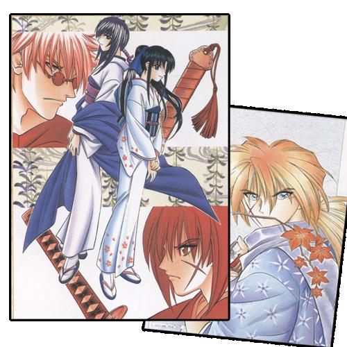 (Mangaka)Nobuhiro Watsuki. Collage1