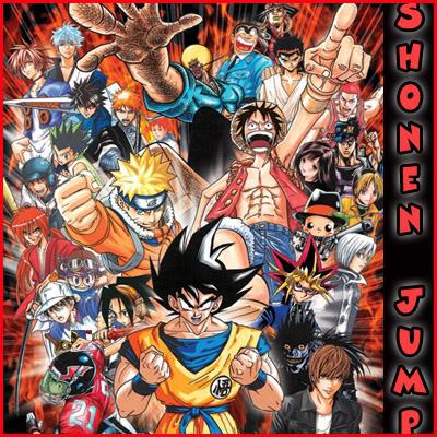 Shonen Jump, la cuna de los grandes éxitos! Collageshonen