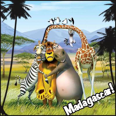 Madagascar; quiero mover el bote! Madagascar