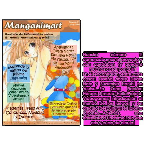 Revistas Manganimart  nº 1 a 23. Revista1