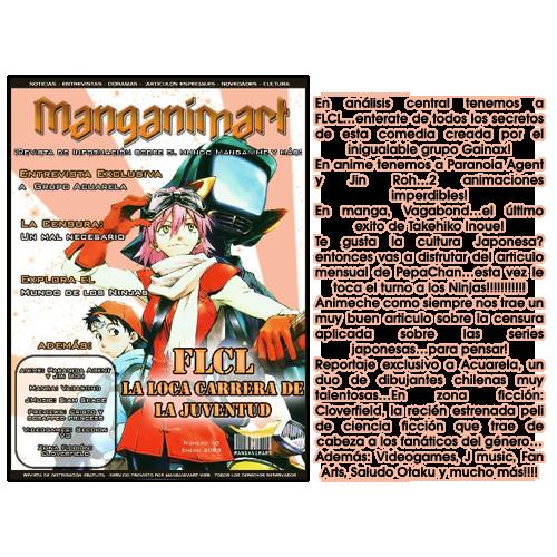 Revistas Manganimart  nº 1 a 23. Revista10