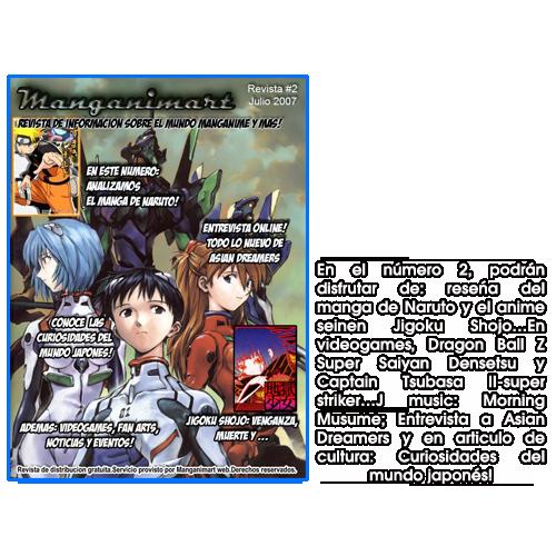 Revistas Manganimart  nº 1 a 23. Revista2