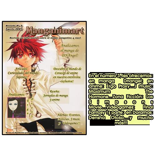 Revistas Manganimart  nº 1 a 23. Revista3-2