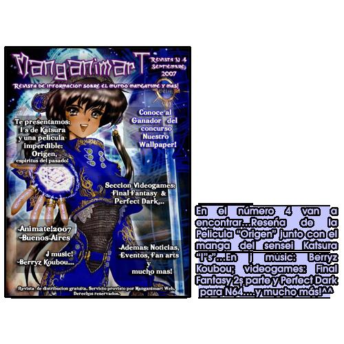 Revistas Manganimart  nº 1 a 23. Revista4