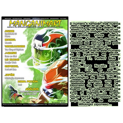 Revistas Manganimart  nº 1 a 23. Revista6