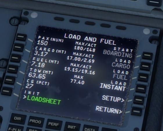 Airbus Bundle - carregamento do combustível 02-A320
