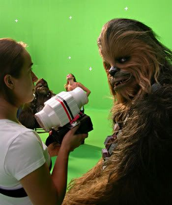 EPISODE III (La revanche des Sith)  /  ROTS - Page 2 Chewi-tournage