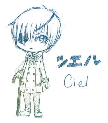 OMG a Ciel Doodle! Ceillittle