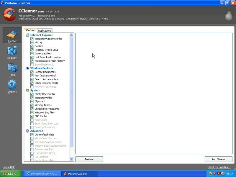 TUTO IMAGE CCLEANER EASYCLEANER ET GLARY UTILITES ScreenHunter_02Feb270124