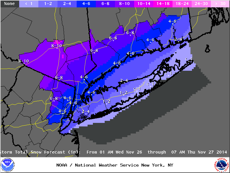 11/26 Pre-Thanksgiving Nor'easter Part 3: Obs Thread and Final Snow Map - Page 2 765urwkytw