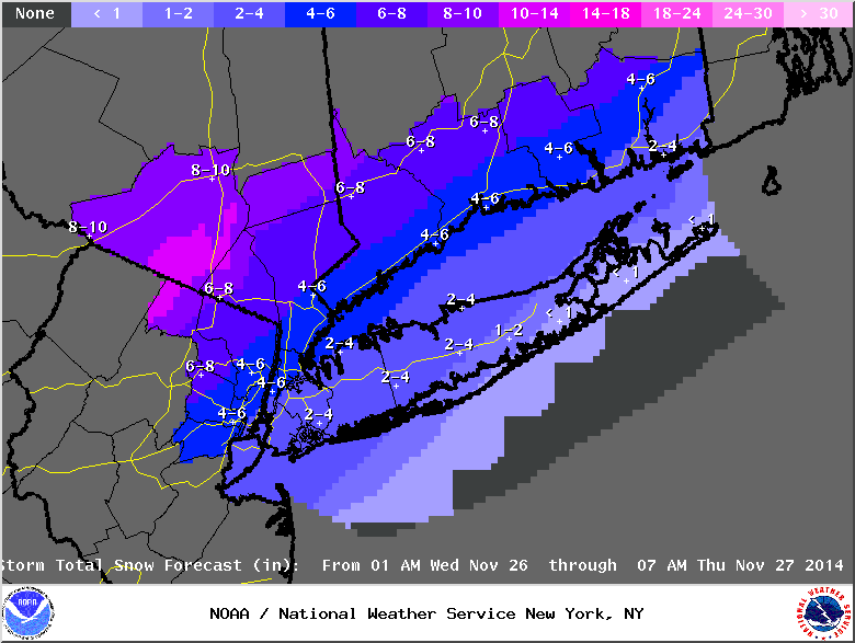 11/26 Coastal Storm Part 2: Forecast & Snow Map - Page 2 StormTotalSnowFcst