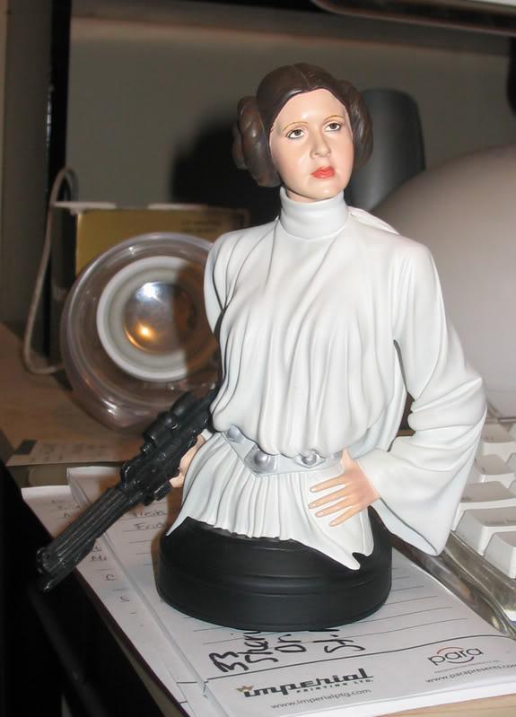 Princess Leia ANH Mini bust IMG_3121