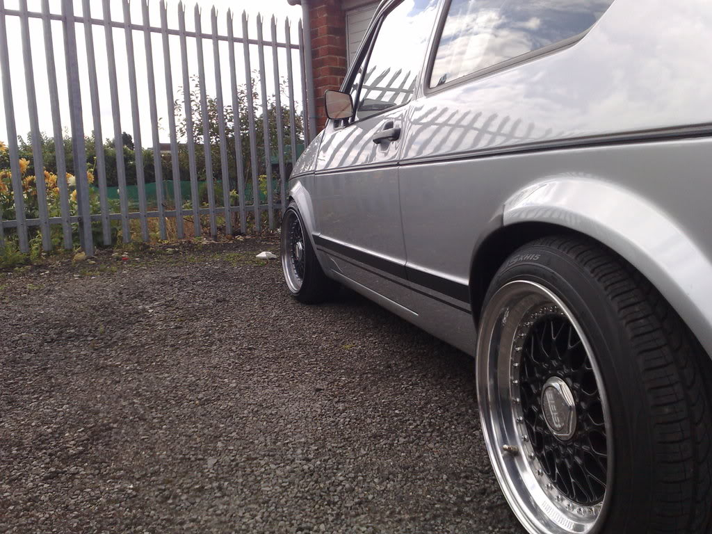 Staggered set of BBS RS 7's and 8's 17082008057