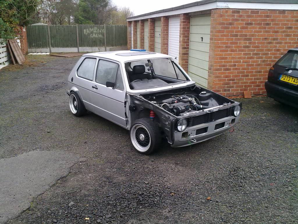 My mk1 Golf G60 (Bit of paint going on at last) - Page 6 21112009115