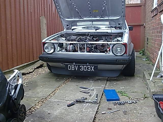 My mk1 Golf G60 (Bit of paint going on at last) - Page 3 4