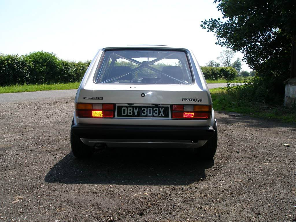 My mk1 Golf G60 (Bit of paint going on at last) P1010366