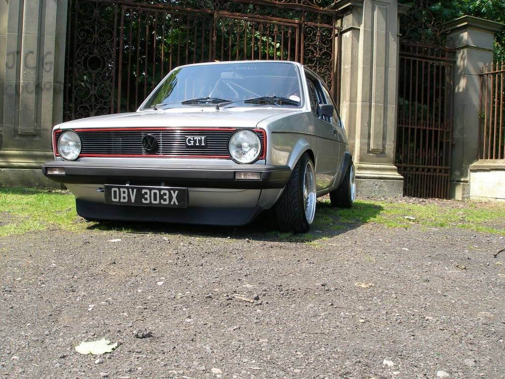 My mk1 Golf G60 (Bit of paint going on at last) P1010373