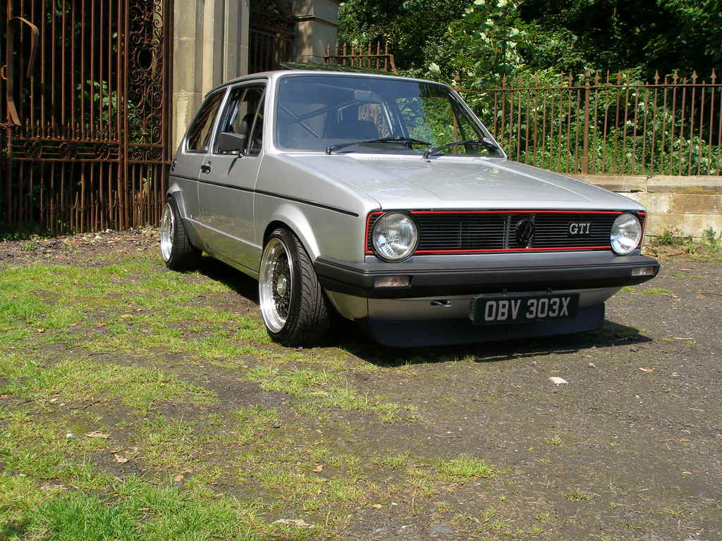 My mk1 Golf G60 (Bit of paint going on at last) P1010374