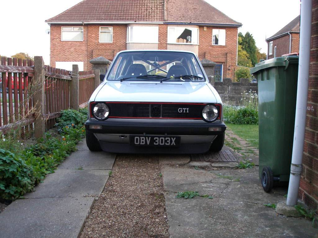 My mk1 Golf G60 (Bit of paint going on at last) - Page 2 P1010536