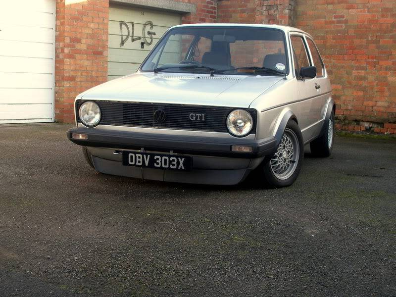 My mk1 Golf G60 (Bit of paint going on at last) P1140216