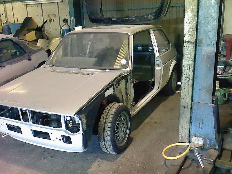 My mk1 Golf G60 (Bit of paint going on at last) Photo-0020
