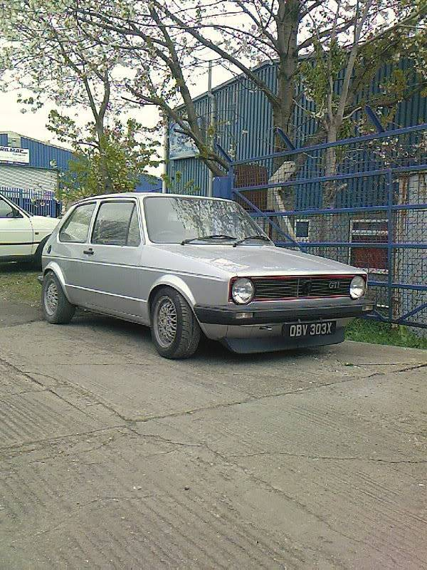 My mk1 Golf G60 (Bit of paint going on at last) Photo-0032