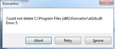 4.07 Beta 1 KONVERTORERROR002