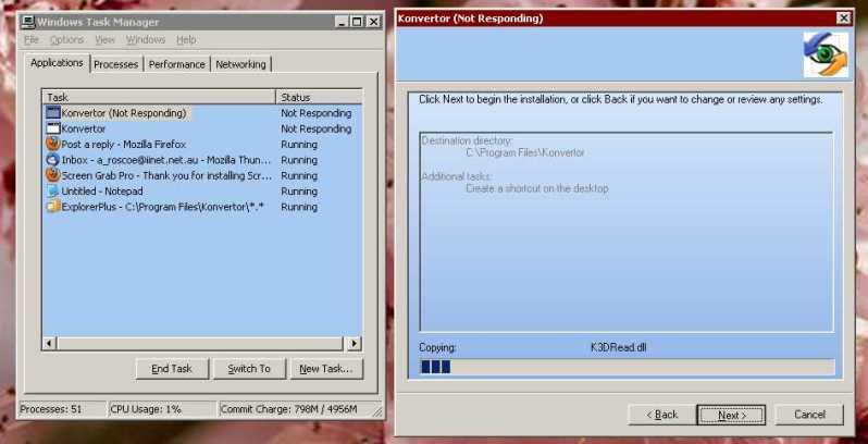 4.03 Beta 1 KONVERTORINSTALLATION