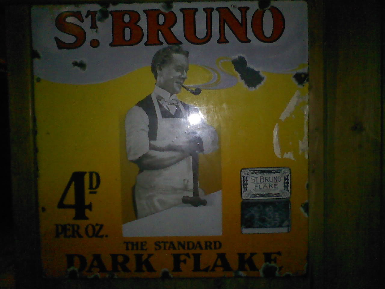 Old pipe tobacco signs. 013-Copy