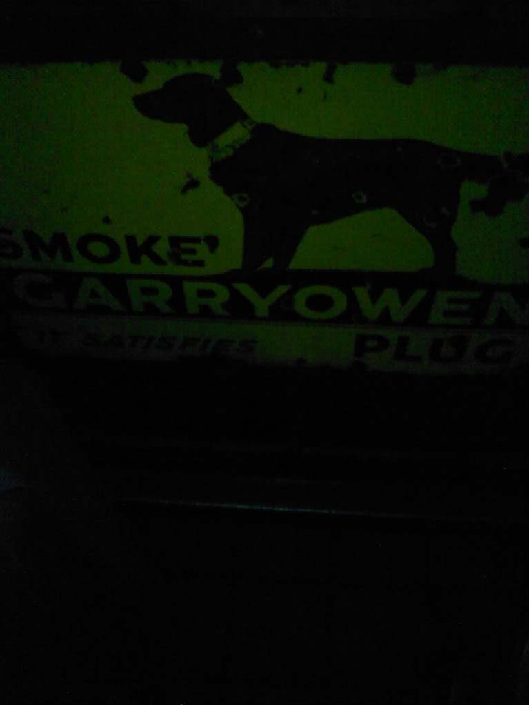 Old pipe tobacco signs. 014