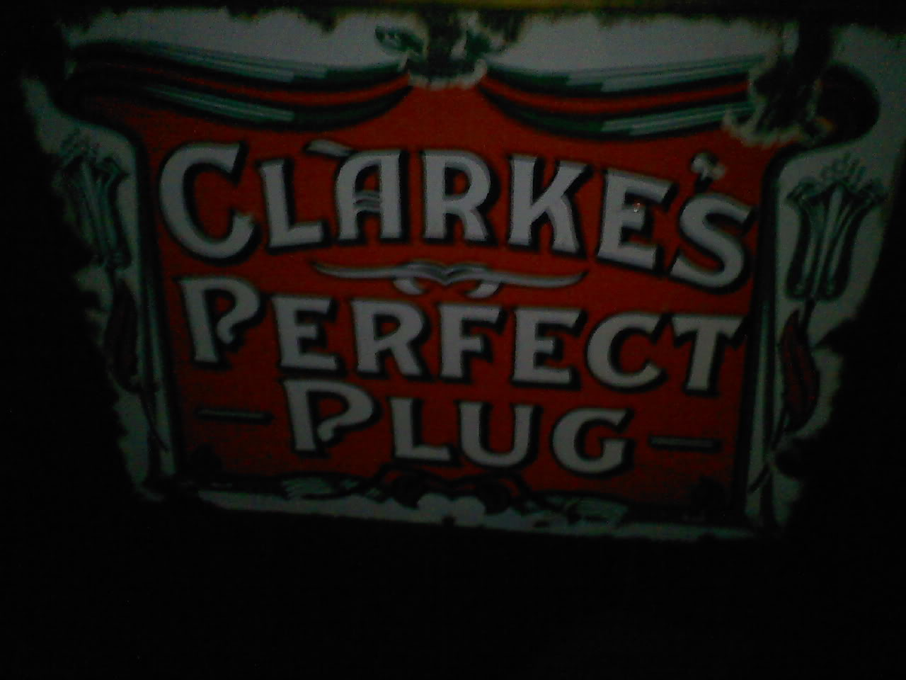 Old pipe tobacco signs. 015