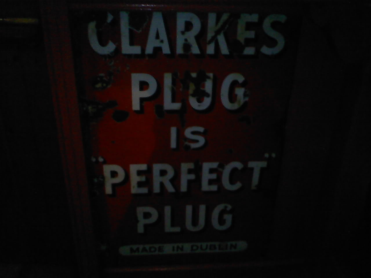 Old pipe tobacco signs. 017