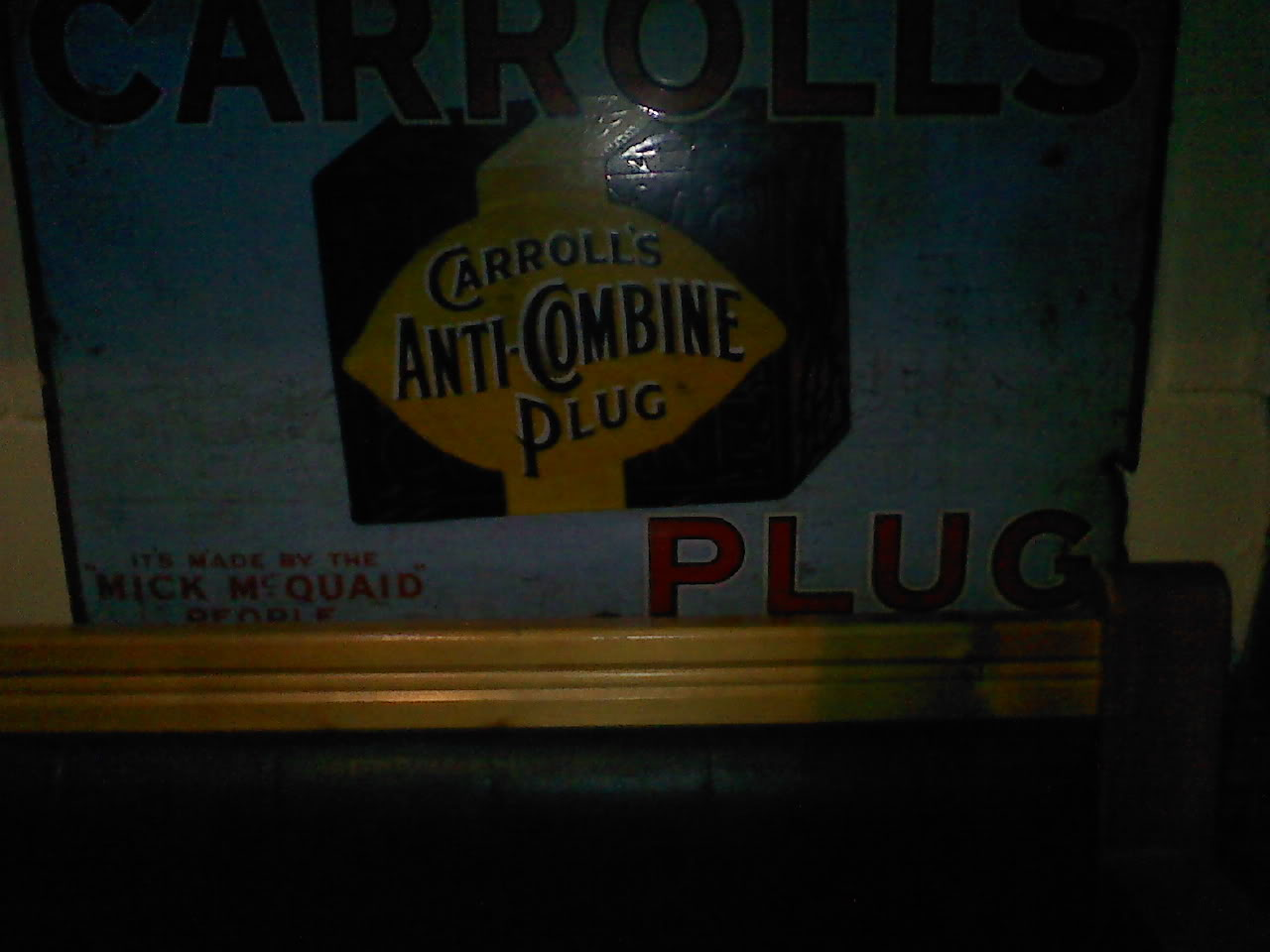 Old pipe tobacco signs. 018