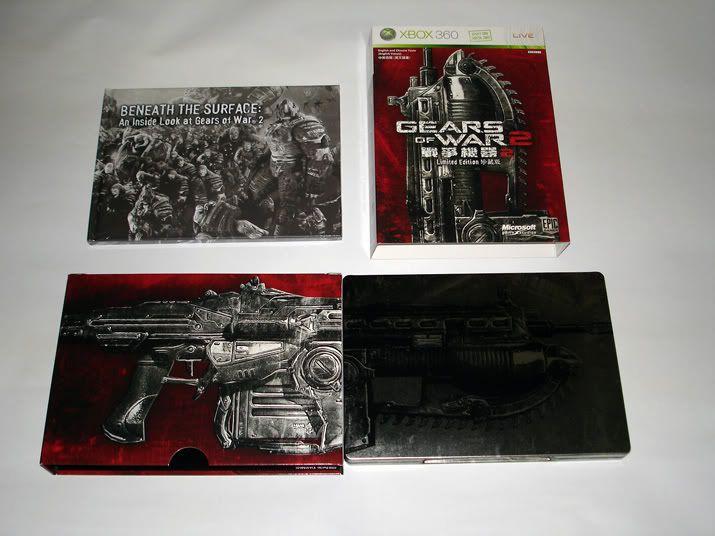 [分享]《战争机器2》限定版DISC2特典制作花絮H264 720P+画集扫描50P纳米盘下载 Game4