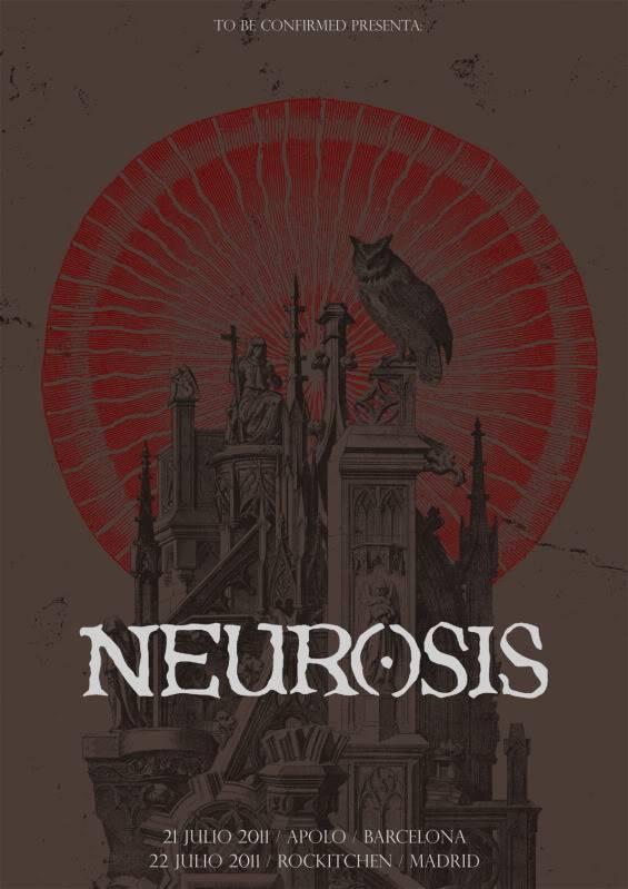NEUROSIS de gira por Barcelona y Madrid Neurosis_poster_internet