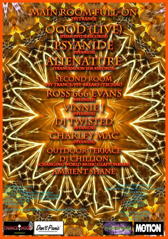 Psyanide Party Returns with OOOD Live Psyanide-23-10-2009-Back1