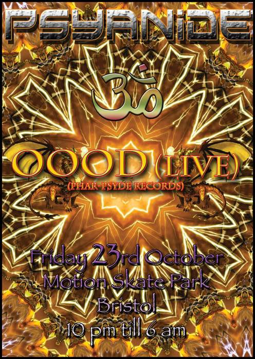 Psyanide Party Returns with OOOD Live Psyanide-23-102009-front