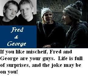 Jaka postać męska z HP ma to, czego pragniesz? - Page 2 FredandGeorgeWeasley