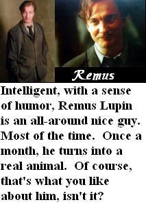 Jaka postać męska z HP ma to, czego pragniesz? - Page 2 RemusLupin
