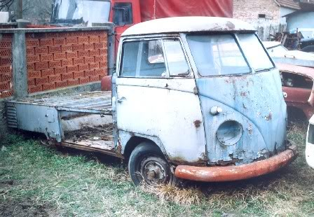 Single cab with enlarged wood bed 1960 Kamionet